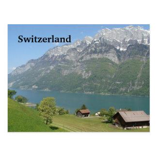 Suiza - postal