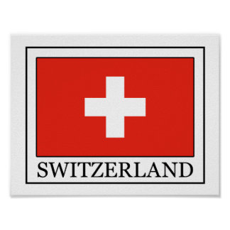 Suiza Póster