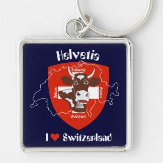 Suiza Suisse Svizzera Svizra llavero