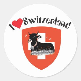 Suiza Suisse Svizzera Svizra pegatina