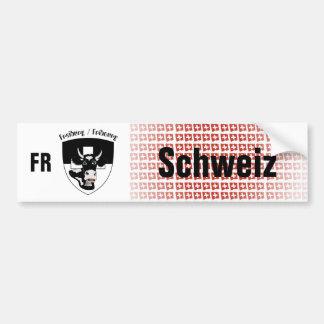 Suiza Svizzera Suisse Freiburg pegatina de automóv Pegatina Para Auto
