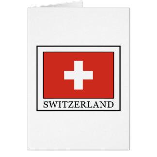 Suiza Tarjeta De Felicitación