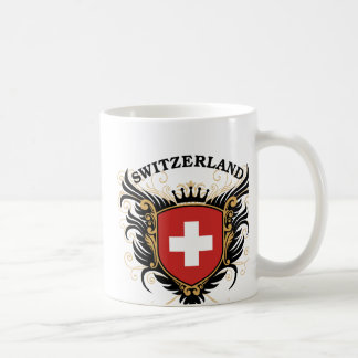 Suiza Taza Básica Blanca