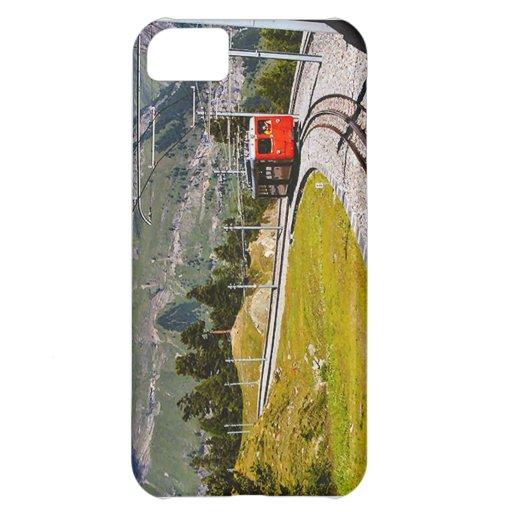 Suiza, tren al top de Europa Funda Para iPhone 5C
