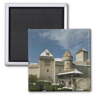 SUIZA, Vaud), suizo Riviera, MONTREUX: Imán Cuadrado