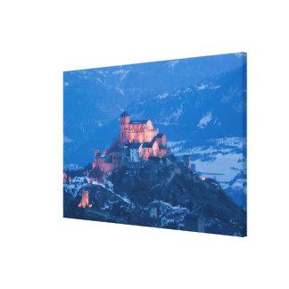 SUIZA, Wallis/Valais, SION: Basilique de Impresion De Lienzo