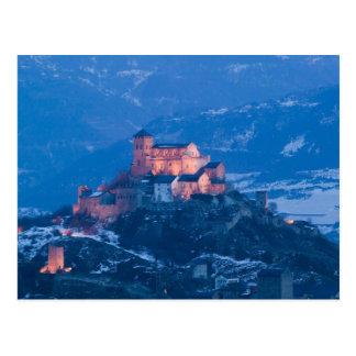 SUIZA, Wallis/Valais, SION: Basilique de Tarjetas Postales