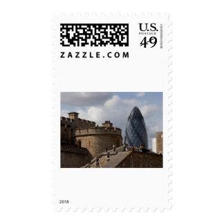 Suizo con referencia al edificio sello