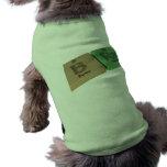 Sujetador como el boro de B y radio del Ra Camisas De Mascota