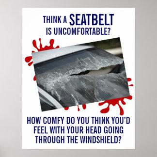 Sujete-ating el poster sobre seguridad del póster