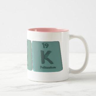 Suk as Sulfur Uranium Potassium Two-Tone Coffee Mug