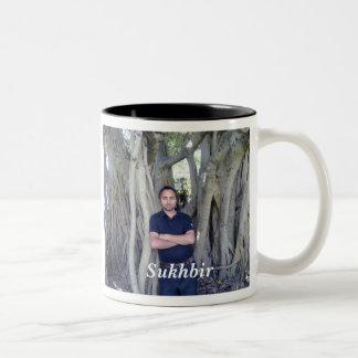 Sukhbir Two-Tone Coffee Mug