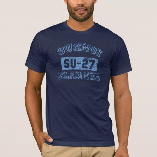 Sukhoi Flanker - BLUE T-Shirt