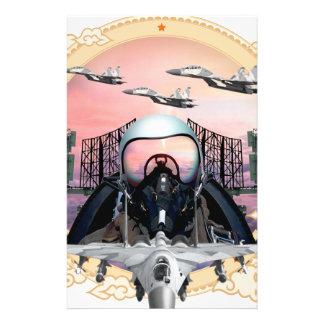 SUKHOI Jet Fighter Stationery