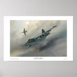 Sukhoi Su-25 'Grach' Poster