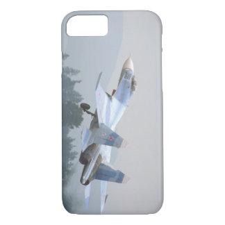 Sukhoi SU-27 'Flanker_Aviation Photograp II iPhone 8/7 Case