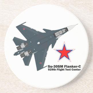 Sukhoi Su-30SM Flanker-C VKS Drink Coaster