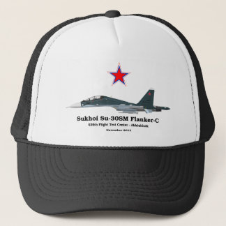Sukhoi Su-30SM Flanker-C VKS Trucker Hat