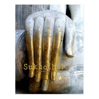 Sukhothai Historical Park. Wat Si Chum. Travel Postcard
