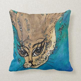 Suki the Fur Seal Throw Pillow