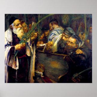 SUKKOT by Leopold Pilichowski - 1895 Poster