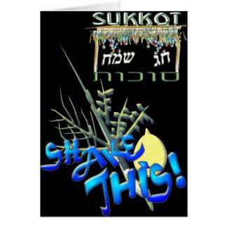 Sukkot Greeting Card