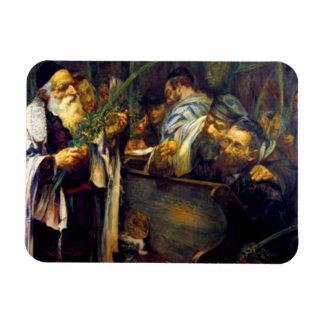 SUKKOT de Leopold Pilichowski - 1895 Imán De Vinilo