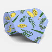 Sukkot Four Species Neck  Tie