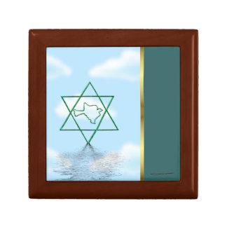 Sukkot Jewish holiday star of david peace dove Keepsake Box