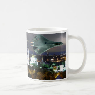 SUKOI OVER MOSCOW COFFEE MUG