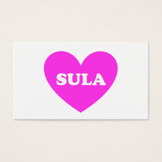 Sula Business Card