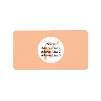 Sulawesi, Indonesia Custom Address Label