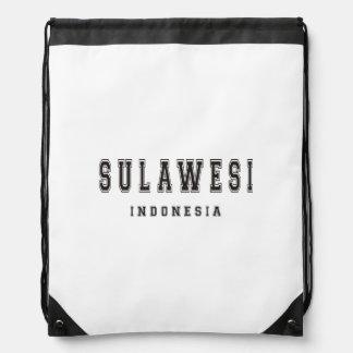 Sulawesi Indonesia Drawstring Backpack