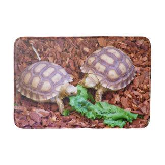 Sulcata Tortoises Bath Mats