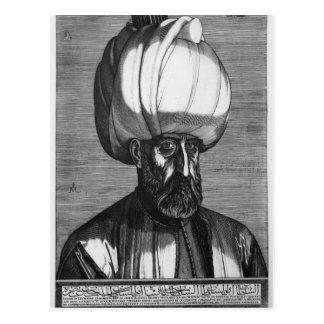 Suleiman el magnífico postal