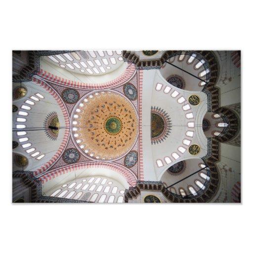 Suleymaniye Mosque in Istanbul Photograph