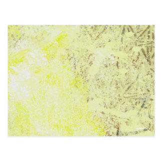 Sulfur, Calcium and Iron Postcard