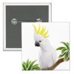 Sulfur Crested Cockatoo Pin