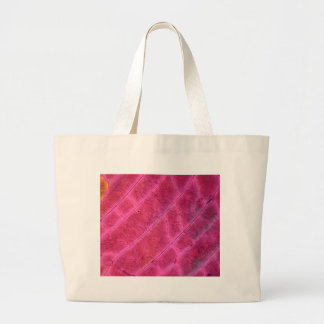 Sulfur crystals under the microscope large tote bag