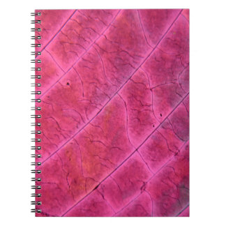 Sulfur crystals under the microscope spiral notebook