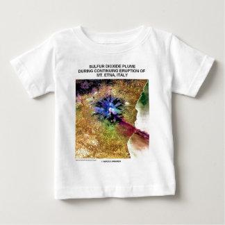 Sulfur Dioxide Plume Eruption Mt. Etna Italy Infant T-shirt