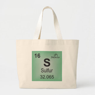 Sulfur Individual Element of the Periodic Table Bags