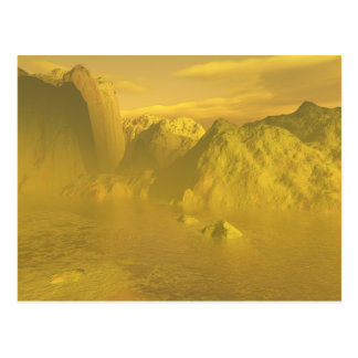 sulfurous world postcard