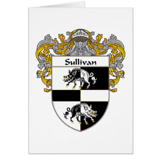 Sulivan Coat of Arms (Mantled) Card