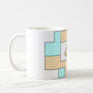 sulk: swan chick baby collection: lief and sweet coffee mug