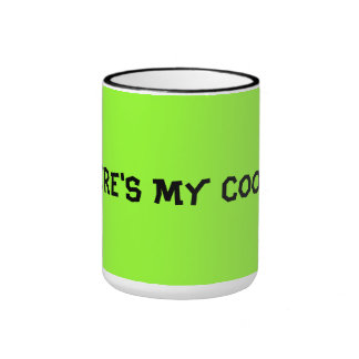 Sulk Where's my cookie?! Ringer Mug