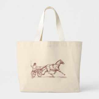 sulkies de la carrera de caballos del carro del ar bolsa de mano