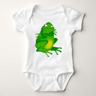 Sulking Frog Baby Bodysuit