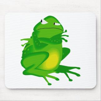 Sulking Frog Mousepads