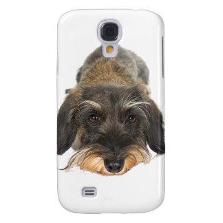 Sulking Yorkie Puppy Galaxy S4 Case